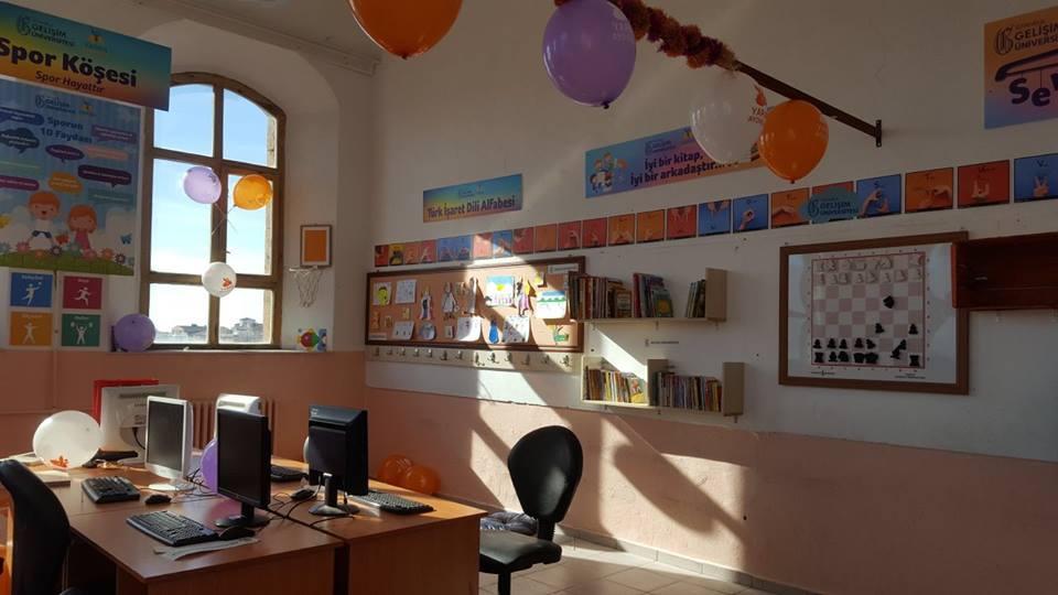 Ömer Halisdemir Kütüphanesi Niğde Dumlupınar İlkokulu