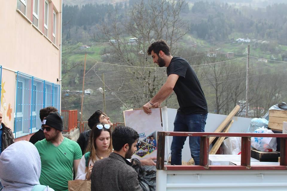 Trabzon Maçka Şehit Eren Bülbül Kütüphanesi
