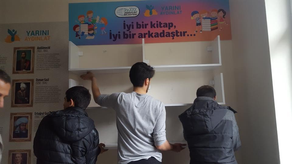 Batman Sason Derince Ortaokulu Şehit Polis Yusuf ERİN Kütüphanesi